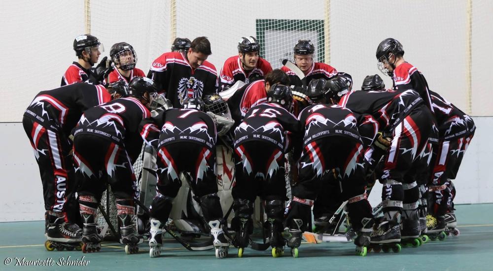 Österreichs Kader für die InlineAuf Österreichs Inlinehockey-Nationalteam wartet das EM-Abenteuer in Kopenhagen-Skaterhockey Europameisterschaft 2019